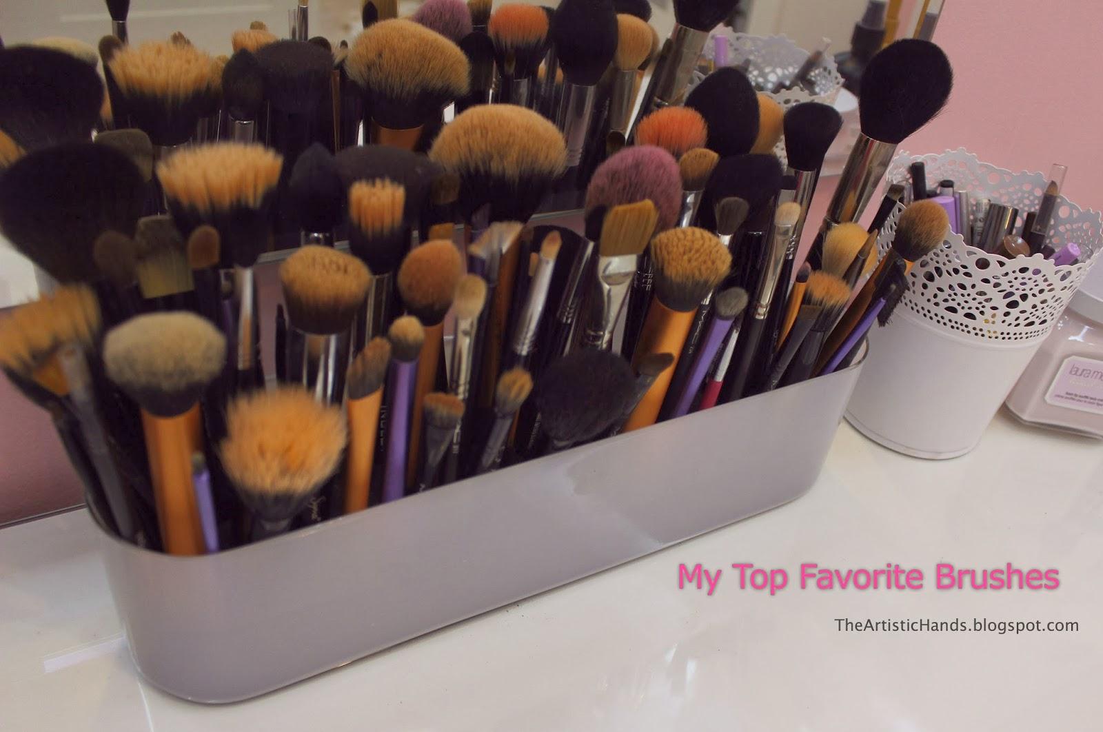 ca676112173af My Top Favorite Makeup Brushes فرش المكياج المفضلة عندي