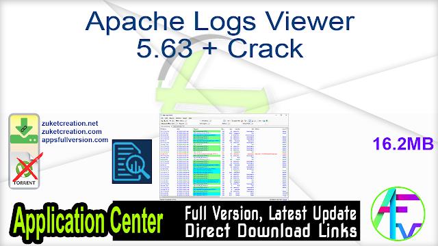 Apache Logs Viewer 5.63 + Crack
