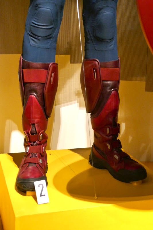 Captain America costume boots The Avengers