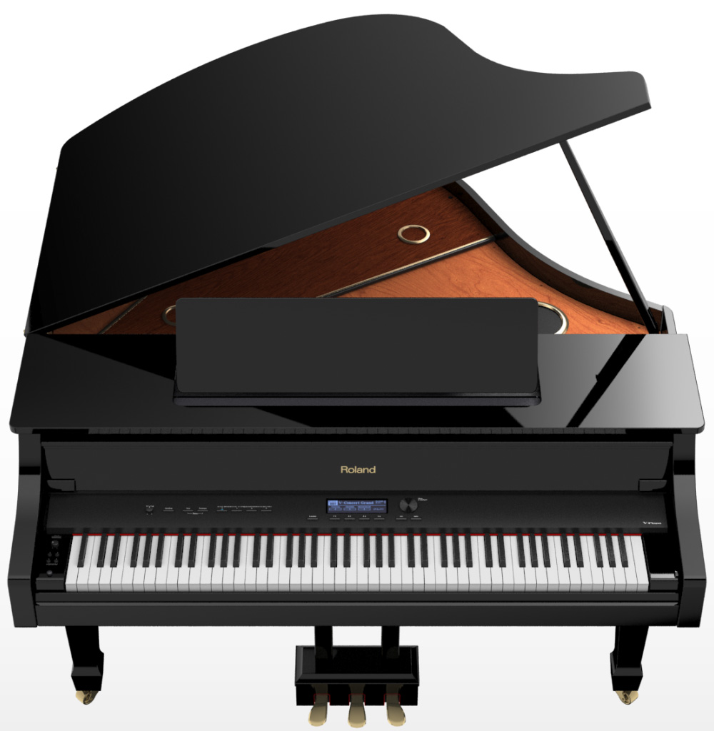Az piano reviews buyers guide 2017 digital grand pianos for Smallest baby grand piano dimensions
