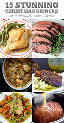 15 Stunning Christmas Dinners | by Life Tastes Good