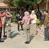 Wawako Hendri Septa, Bagi-Bagi Masker Untuk Personil Sat Pol PP
