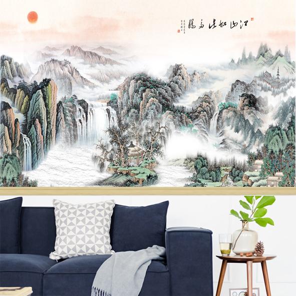 Tranh Phong cảnh thủy mạc