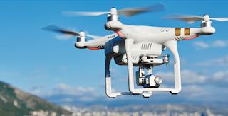 Source: AdAsia website. Drones can give bird's eye views of scenes.