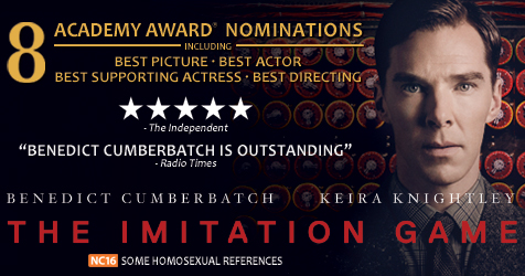 Jambi Movie Freaks Review The Imitation Game 2014 By Nendra Pratama
