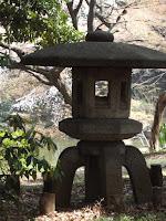 Japanese stone lantern - Ueno Park, Tokyo, Japan
