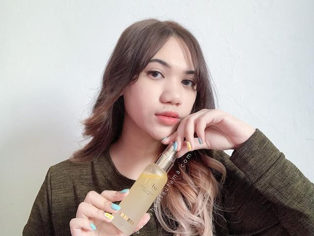 Review d'Alba White Truffle First Spray Serum - Sheilla Utama