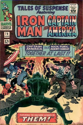 Tales of Suspense #78, Captain America and Nick Fury