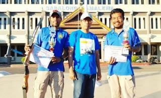 Lomba Panahan Kapolres Sumbawa Cup, STIE Archery Club Rebut Medali Emas dan Perak