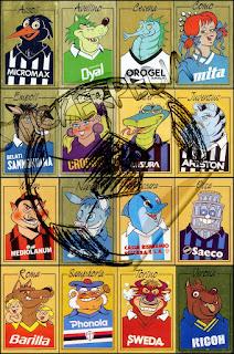 Calciatori panini serie a serie b 1987/88