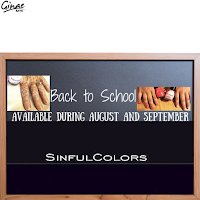 Back to School 2015 From SinfulColors