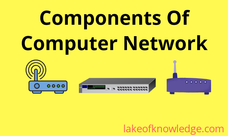 Components of computer network