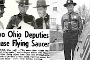 Portage County Police Officers Pursues UFO in 1966, USA