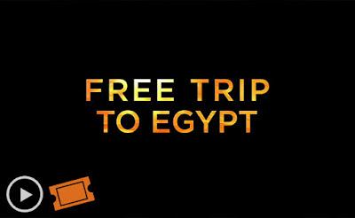 Fandango: Free Trip to Egypt