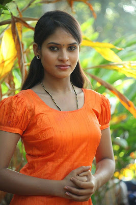 Sanyathara photos in Pani Vizhum Malar Vanam New Movie Stills