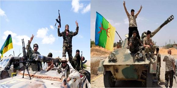 الجيش الليبي مقاتلين امازيغ