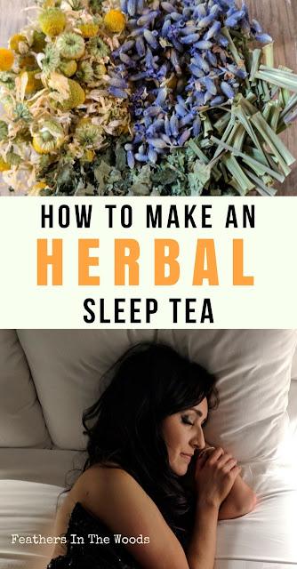 Herbal sleep tea | natural healthcare
