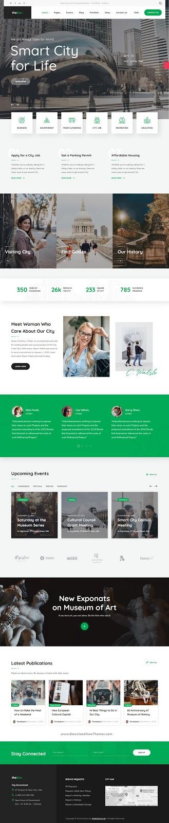 Municipal and Government WordPress Theme