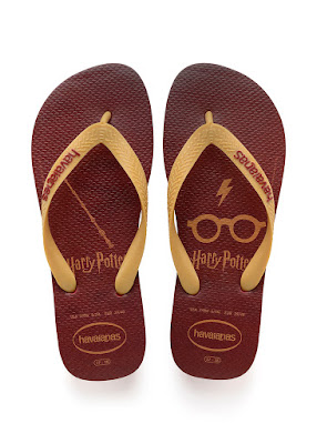 Havaianas announce a Harry Potter-inspired collection print flip-flops