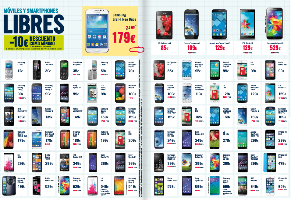 PhoneHouse Sur Ingenia Mobile: MÓVILES Y SMARTPHONES