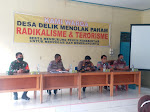 FGD Menolak Paham Radikalisme Dan Terorisme Bersama Masyarakat Desa Delik