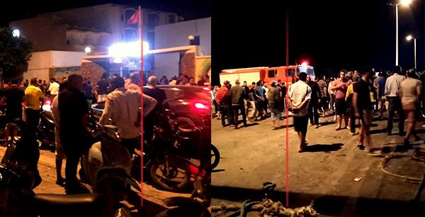 المهدية : وفاة زوجين بعد سقوط سيارتهما في ميناء الشابة