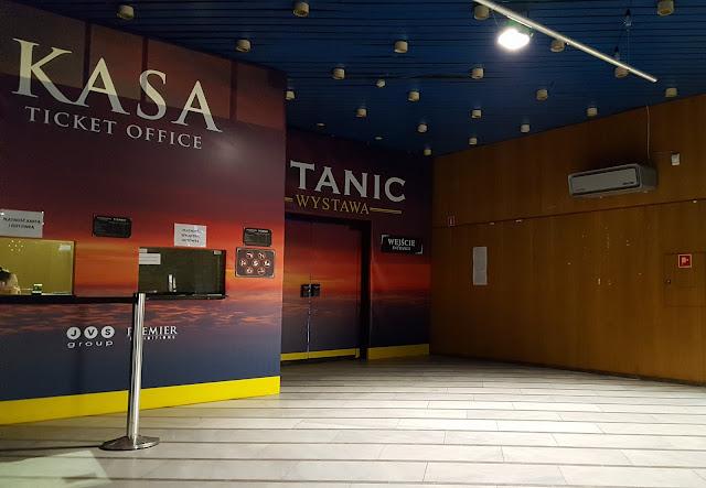 Titanic - wystawa.