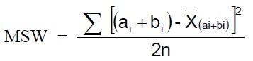 rumus msw pada uji f