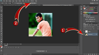 Select Background & Refine Edge