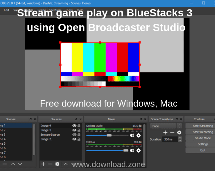 How To Use OBS To Stream Gameplay On BlueStacks 3?