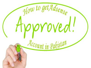 google adsense approval in pakistan image