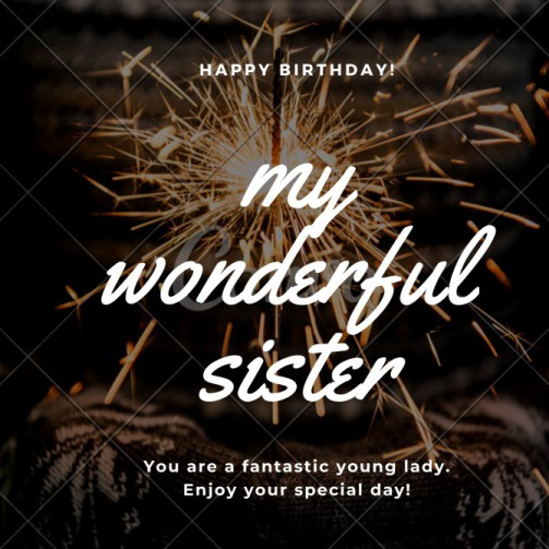 Peachy Happy Birthday Sister Quotes And Messages For Sister Personalised Birthday Cards Beptaeletsinfo