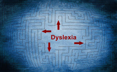 Image of a maze with the word 'Dyslexia' in the centre