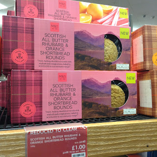 Marks & Spencer Rhubarb & Orange Shortbread Rounds