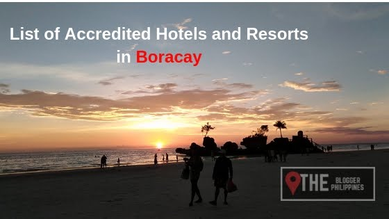 List of Accredited Hotels and Resorts in Boracay