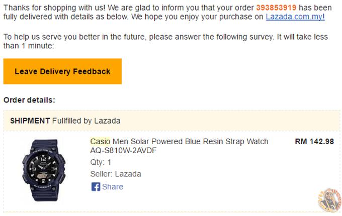 Casio Tough Solar Power - Beli Online Dengan Diskaun
