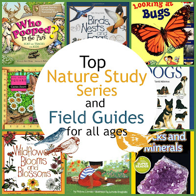 Top Nature Series and Field Guides for All Ages {The Unlikely Homeschool}