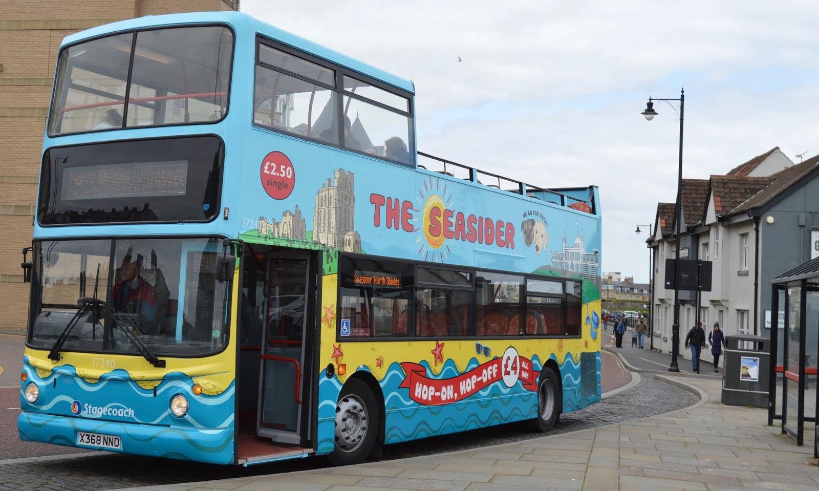 The Seasider Open Top Bus Tour Whitley Bay | Tickets, Prices, Timetables & Where To Visit
