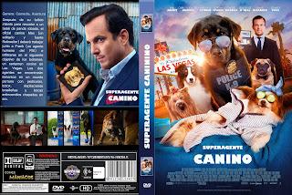 CARATULA SUPERAGENTE CANINO/SHOW DOGS 2018 [COVER DVD]