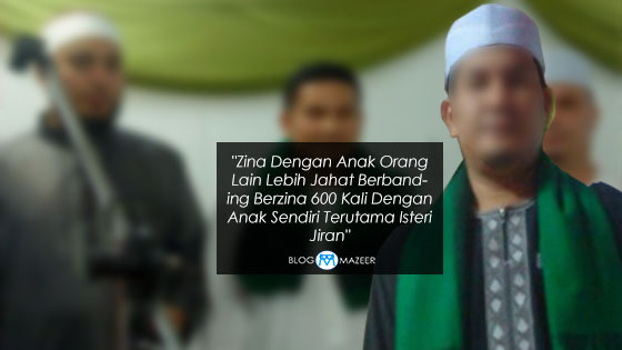 """Zina Dengan Anak Sendiri Lebih Baik Dari Zina Dengan Isteri Jiran"" - Status Lelaki Ini Dikecam"