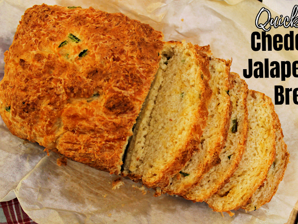 Cheddar Jalapeno Bread-Quick and Easy