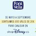 Font Vella sortea 500 vales de 20€