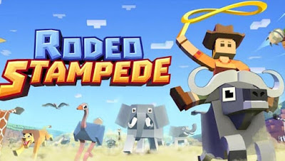 Rodeo Stampede: Sky Zoo Safari MOD APK+DATA v1.15.1 Hack Unlimited Money Terbaru 2018