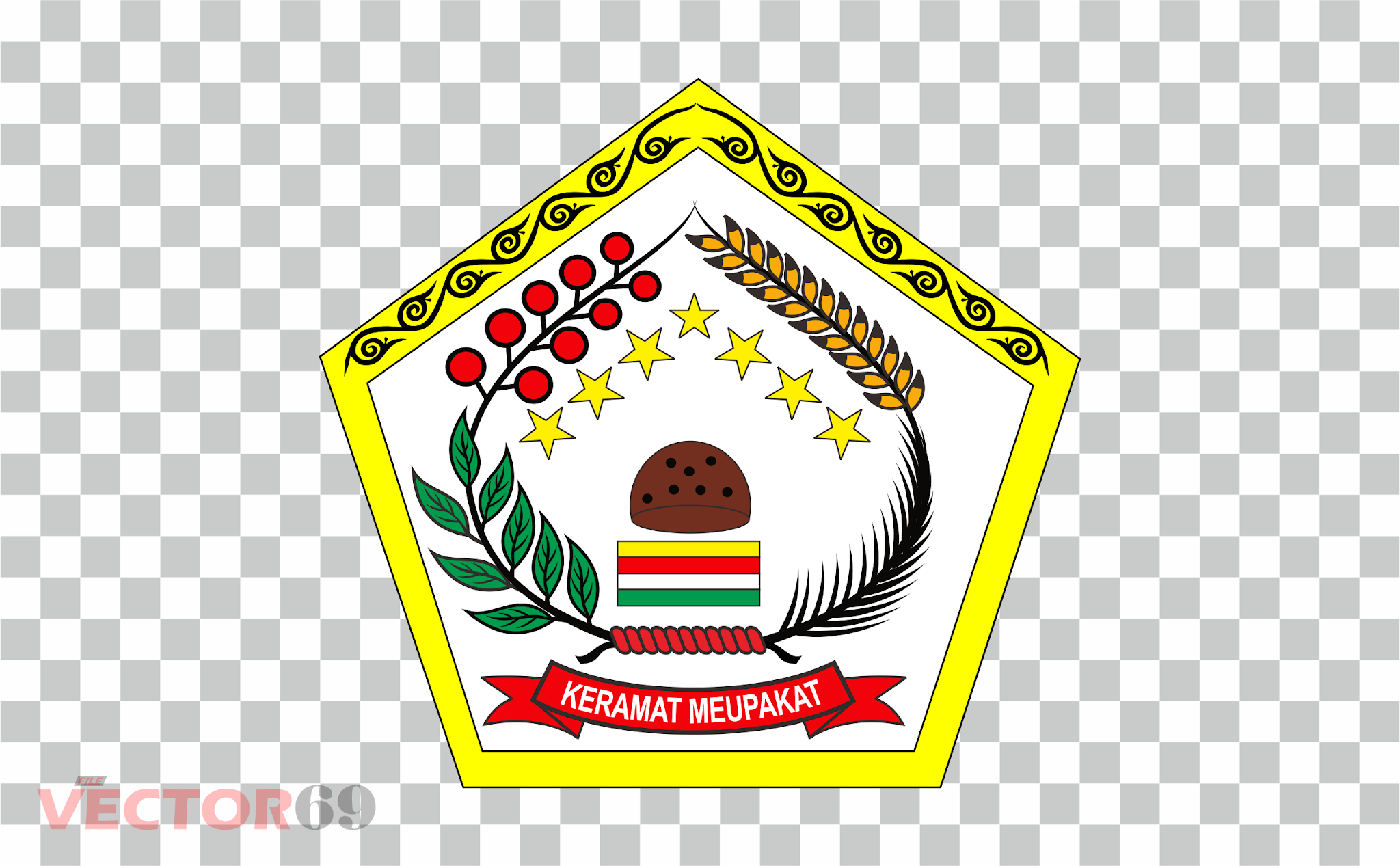 Kabupaten Aceh Tengah Logo - Download Vector File PNG (Portable Network Graphics)