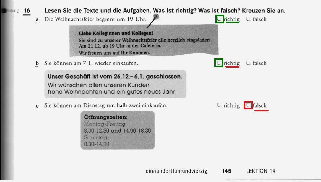Komplementierung in Deutsch: Arbeitsblatt 5