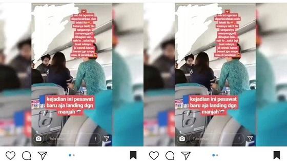 Inilah Video Wanita Cantik Dilecehkan Pas Mau Landing di Palembang Yang Bikin Heboh Lagi