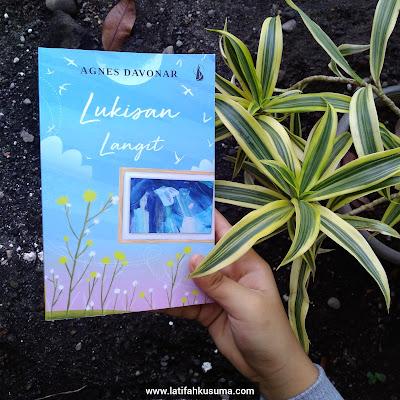 Novel Lukisan Langit Agnes Davonar