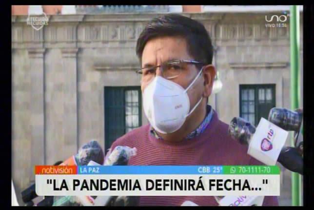 La fecha definitiva de elecciones la definirá la pandemia del coronavirus en el país