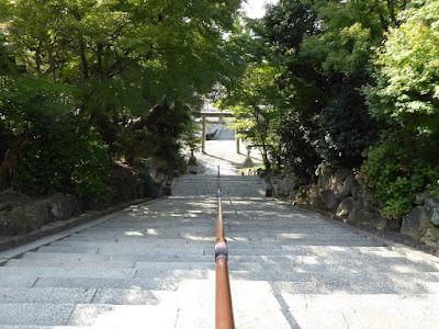 四條畷神社 階段