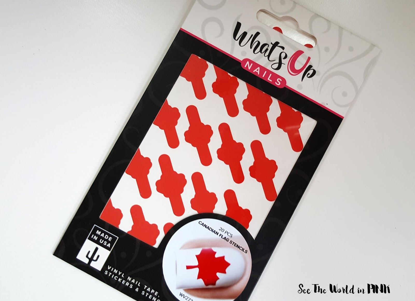 Manicure Wednesday - Getting Ready For Canada Day With Nail Polish Canada & What's Up Nails ( + A Freebie Code For The First 10 People!)